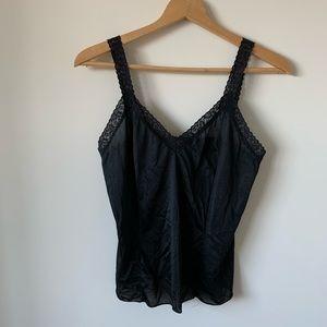 • Vintage Black Lace Cami •
